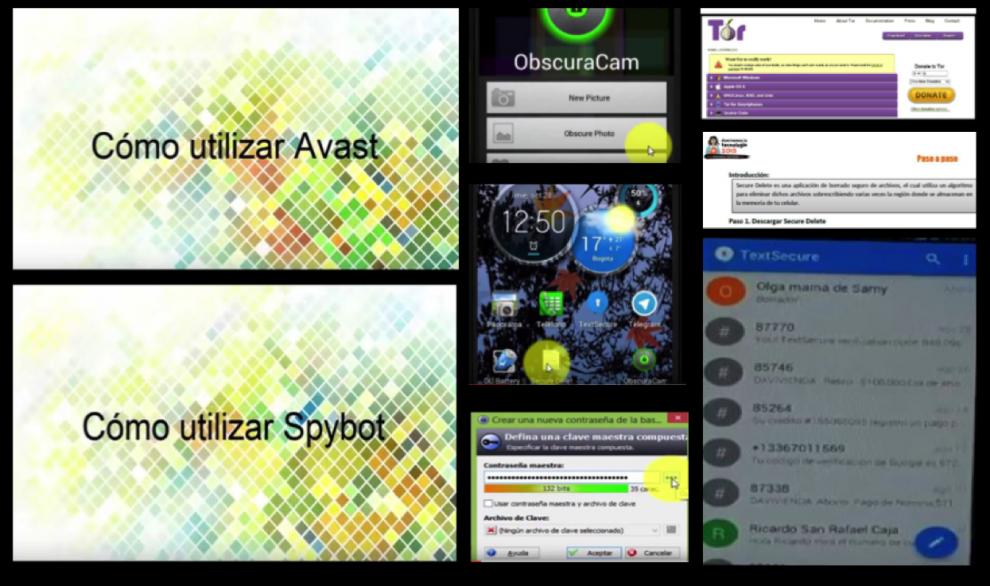 Gr�fica alusiva a Herramientas de seguridad digital para m�viles  y computadores